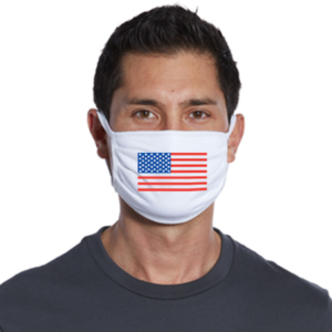facemask american flag fourth of july